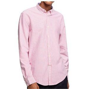 Zara Men Striped oxford shirt